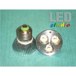 LED bodová žiarovka, 3W, EDISON
