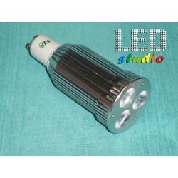 LED bodová žiarovka, 9W, CREE, závit GU10