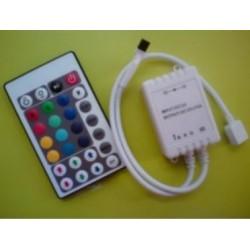 RGB LED ovládač IR