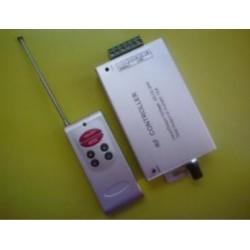 RGB LED ovládač RF, audio, 3CMOS x 4A