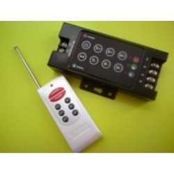 RGB LED ovládač RF, 3CMOS x 4A