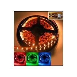 LED pás 7,2W/m, jednofarebný R, G, B, Y, IP65
