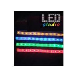 BREE, LED pás SMD1210, 5m, 60ks/m, 4,8W/m, jednofarebný R, G, Y, interiér