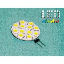 ZJTL, LED žiarovka 12SMD5050, 2,5W, 12V, závit G4