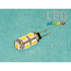 ZJTL, LED žiarovka 9SMD5050, 1,8W, 12V, závit G4