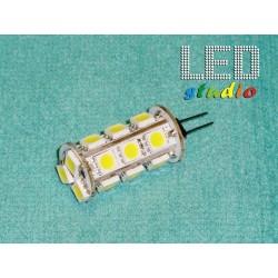 ZJTL, LED žiarovka kukurica 18SMD5050, 3,6W, 12V, závit G4
