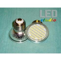 TERLED, LED bodová žiarovka, E27/E14/GU10/MR16, 3,3W, biela, 60SMD 3528