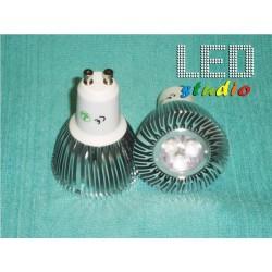 LED bodová žiarovka, 9W, CREE